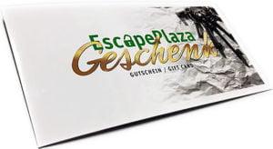 Escape Rooms Geschenkgutschein