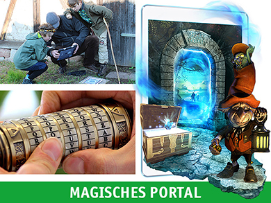 Outdoor Escape Game Magisches Portal Linden