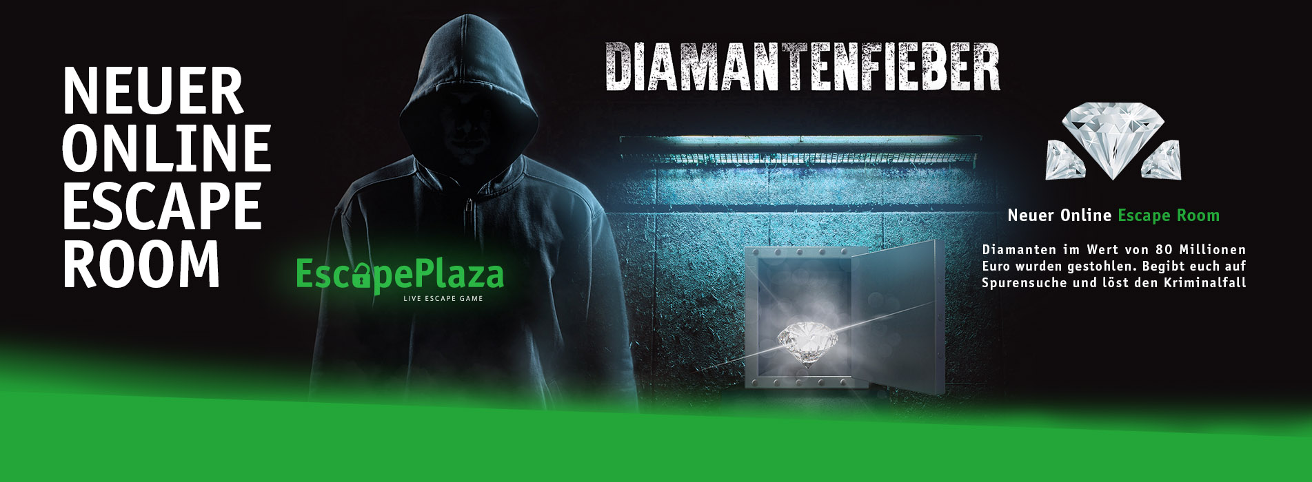 Diamantenfieber - Online Escape Room